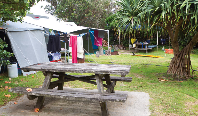 Sandon River campground