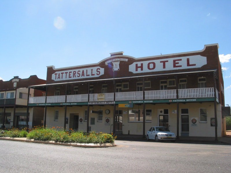 Tattersalls Hotel Baradine - Accommodation Kalgoorlie