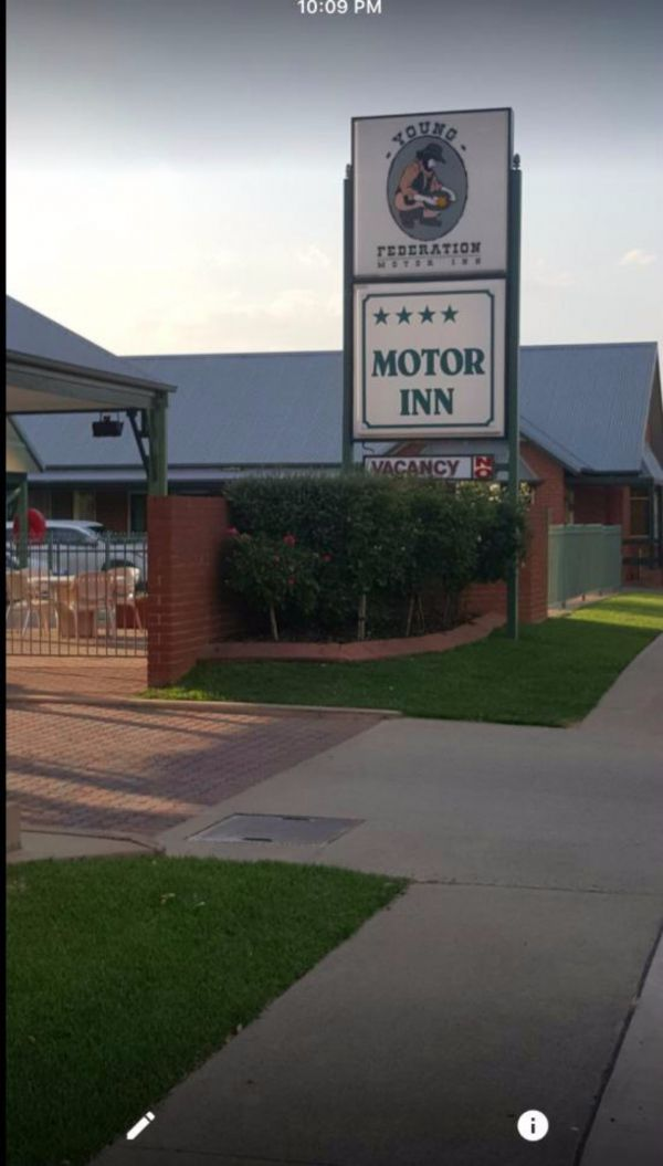 Federation Motor Inn Young - Accommodation Kalgoorlie