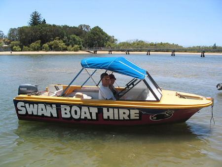 Swan Boat Hire - Accommodation Kalgoorlie