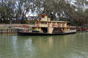 Emmylou Paddle Steamer - Accommodation Kalgoorlie