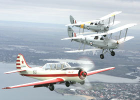 Vintage Tiger Moth Joy Flights - Accommodation Kalgoorlie
