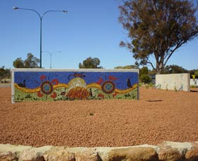 Council Office Mosaic - Accommodation Kalgoorlie