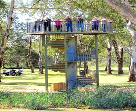 Darling and Murray River Junction and Viewing Tower - Accommodation Kalgoorlie