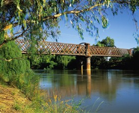 Narrandera Rail Bridge - Accommodation Kalgoorlie