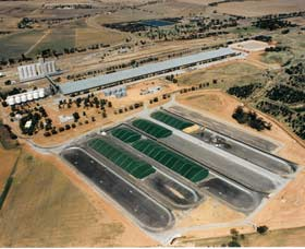 Co-operative Bulk Handling CBH Wheat Storage and Transfer Depot - Accommodation Kalgoorlie