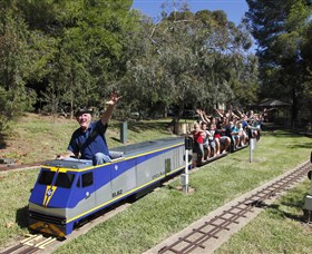 Willans Hill Miniature Railway - Accommodation Kalgoorlie
