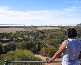 Lake Grace Lookout - Accommodation Kalgoorlie