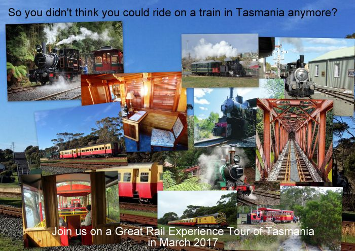 Great Rail Experiences  Tasmania Tour 2017 - Accommodation Kalgoorlie