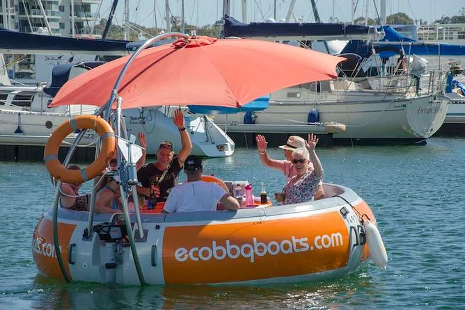 Self-Drive BBQ Boat Hire Mandurah - Group of 7 - 10 people - Accommodation Kalgoorlie