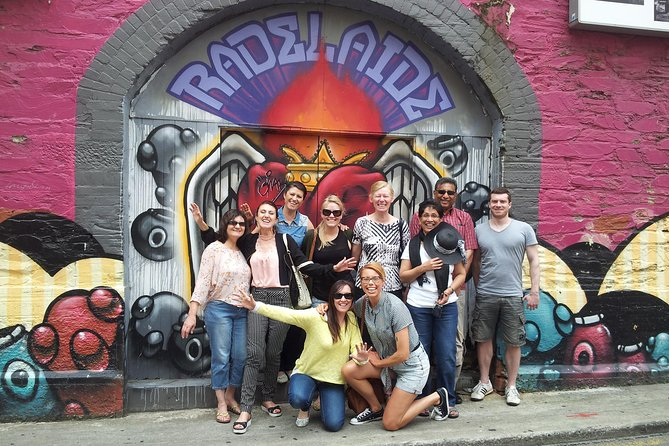Adelaide City Food and Street Art Walking Tour - Accommodation Kalgoorlie
