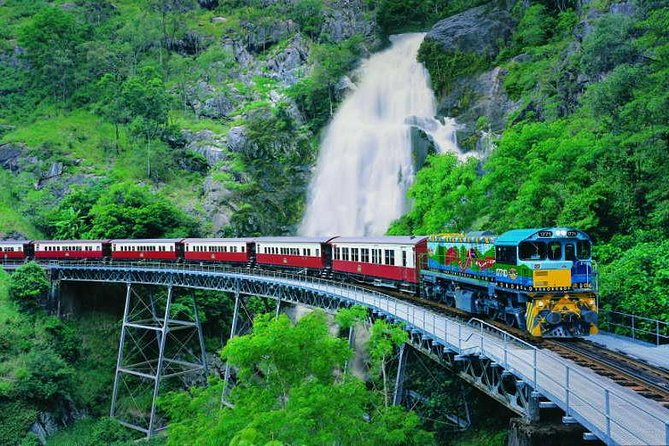 Full-Day Tour with Kuranda Scenic Railway Skyrail Rainforest Cableway and Hartley's Crocodile Adventures from Cairns - Accommodation Kalgoorlie