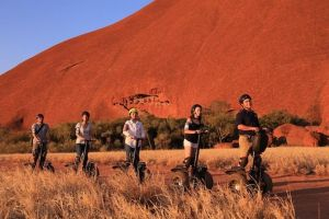 Sunset Segway Experience in Uluru from Yulara - Accommodation Kalgoorlie