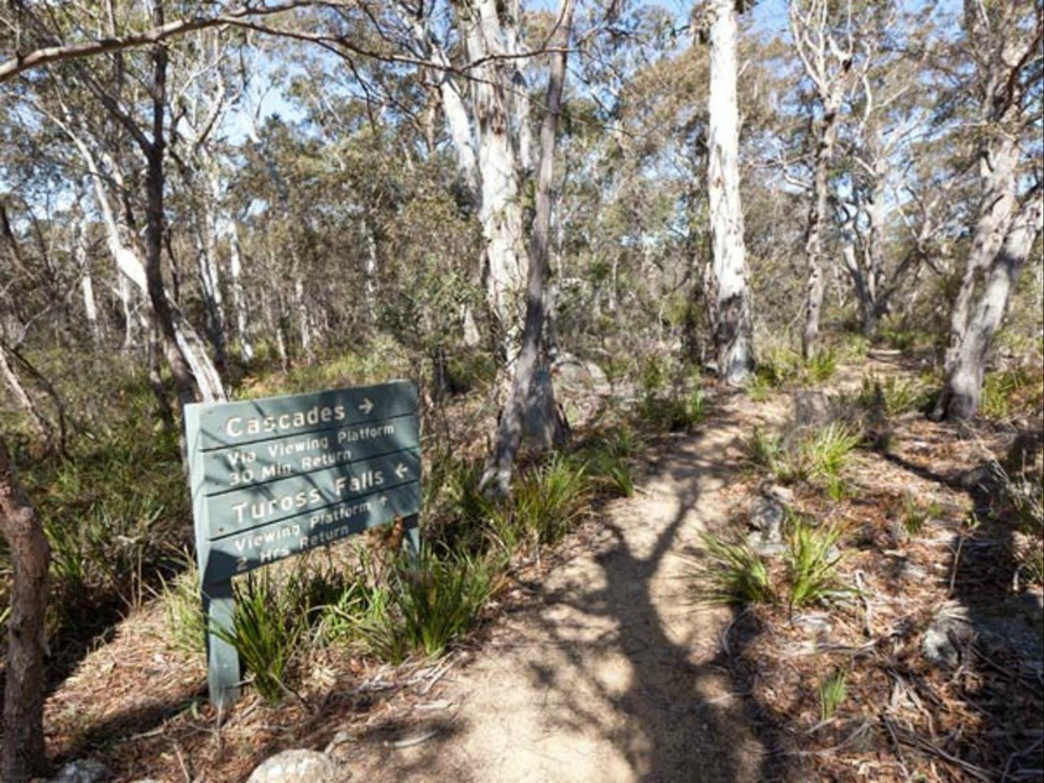 Cascades walking track and viewing platform - Accommodation Kalgoorlie