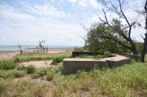 WWII Gun Emplacement Wagait Beach - Accommodation Kalgoorlie