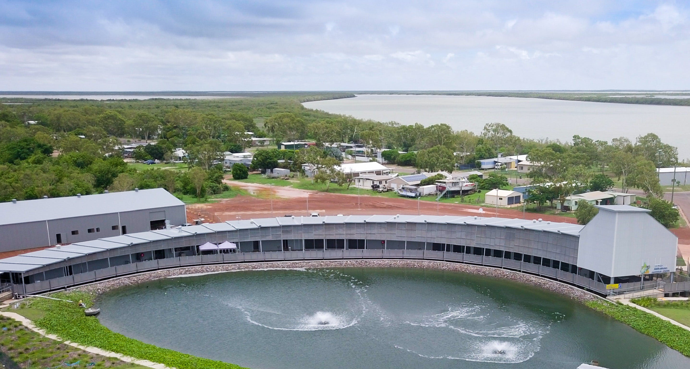 Les Wilson Barramundi Discovery Centre - Accommodation Kalgoorlie