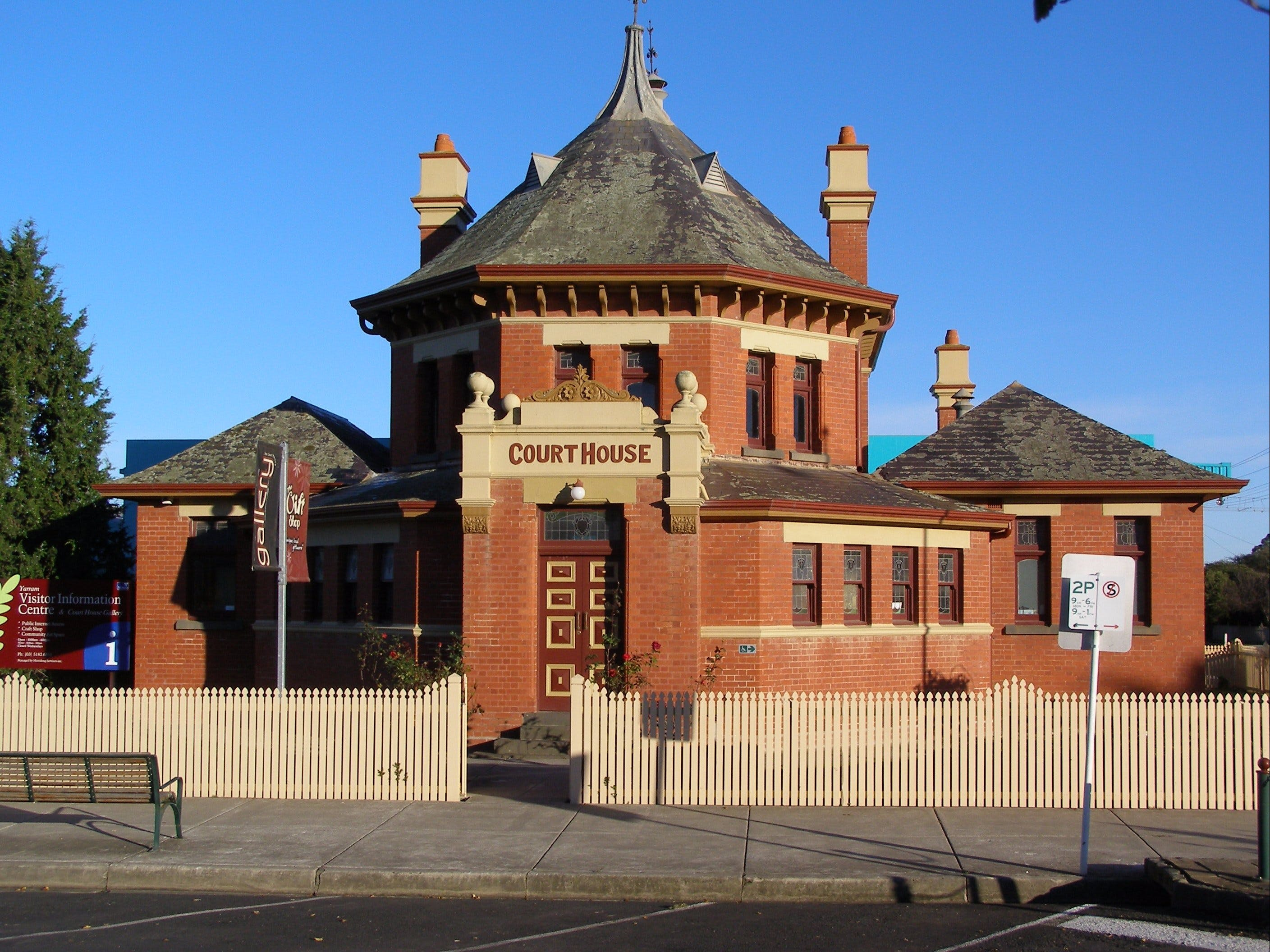 Yarram Courthouse Gallery - Accommodation Kalgoorlie