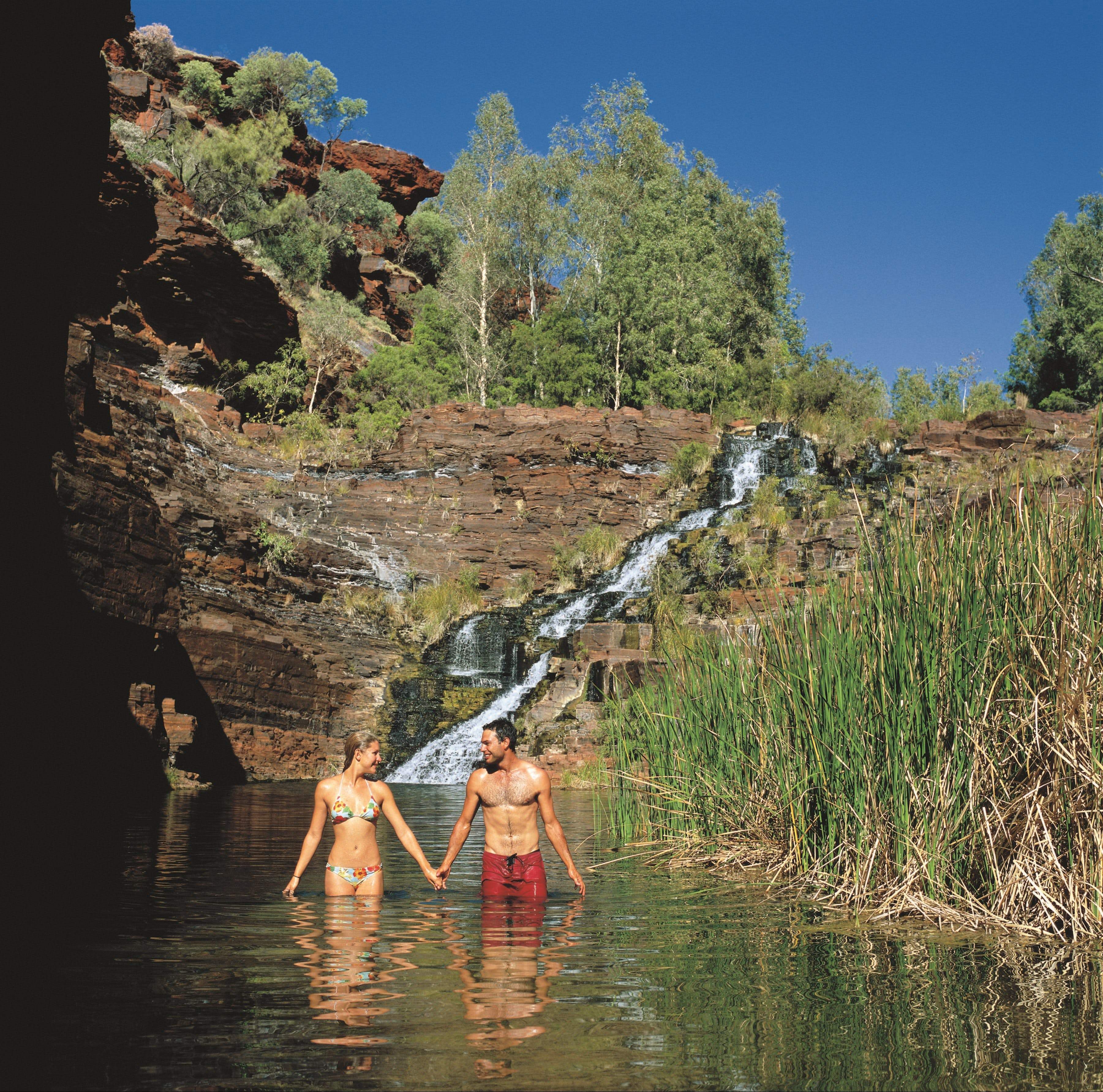 Fortescue Falls - Accommodation Kalgoorlie