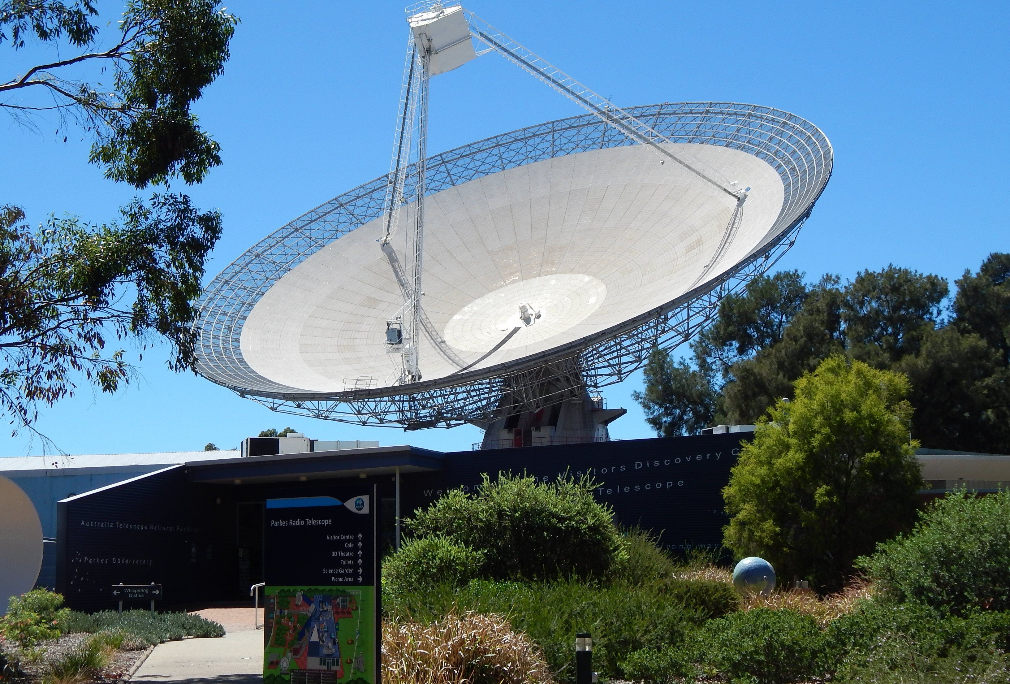 CSIRO Parkes Radio Telescope Visitor Centre - Accommodation Kalgoorlie