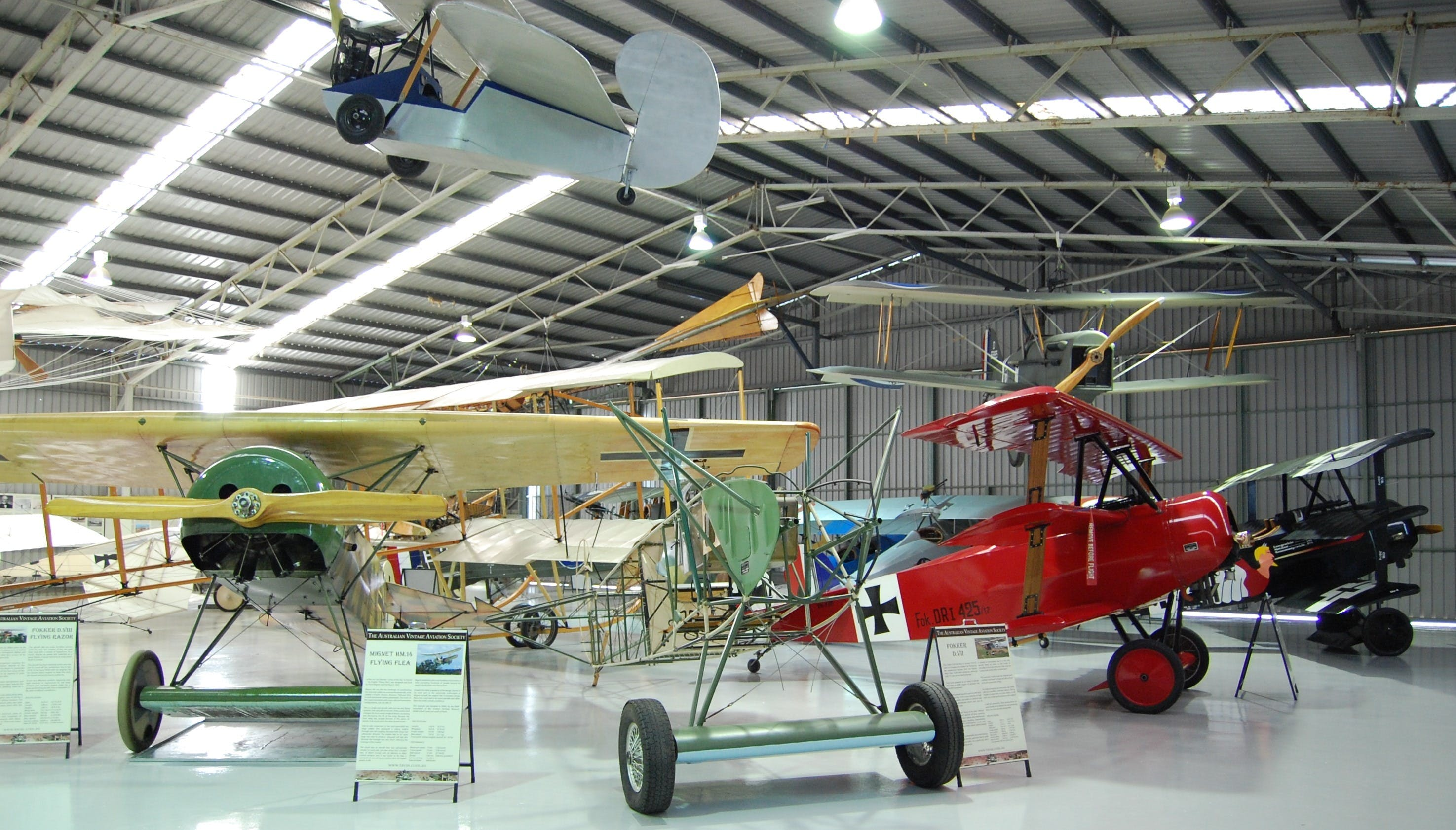 The Australian Vintage Aviation Society Museum - Accommodation Kalgoorlie