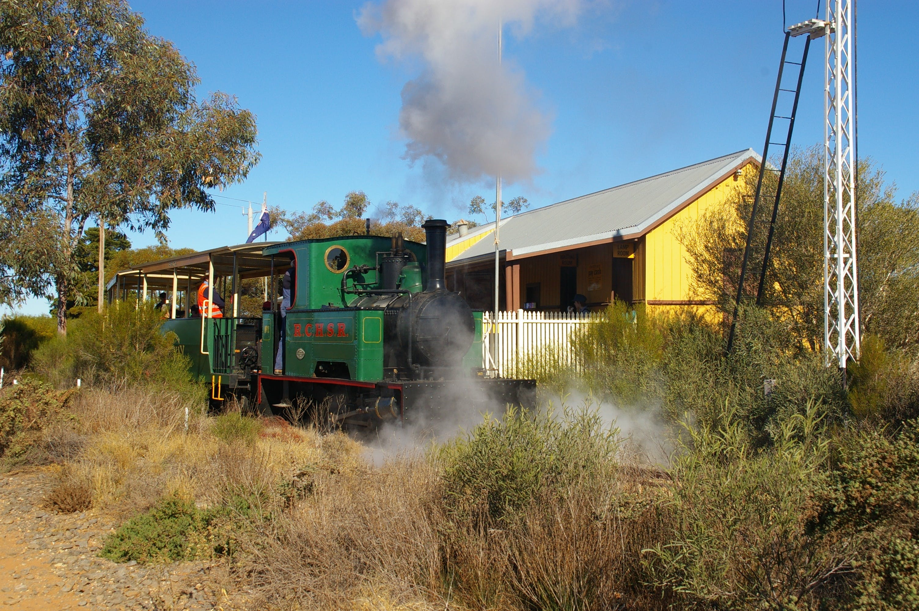 Red Cliffs Historical Steam Railway - Accommodation Kalgoorlie