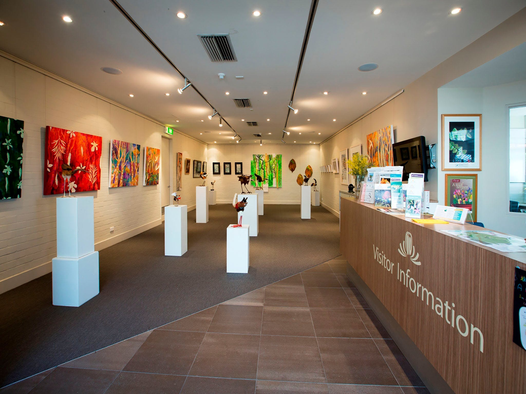 Australian National Botanic Gardens Visitor Centre Gallery - Accommodation Kalgoorlie