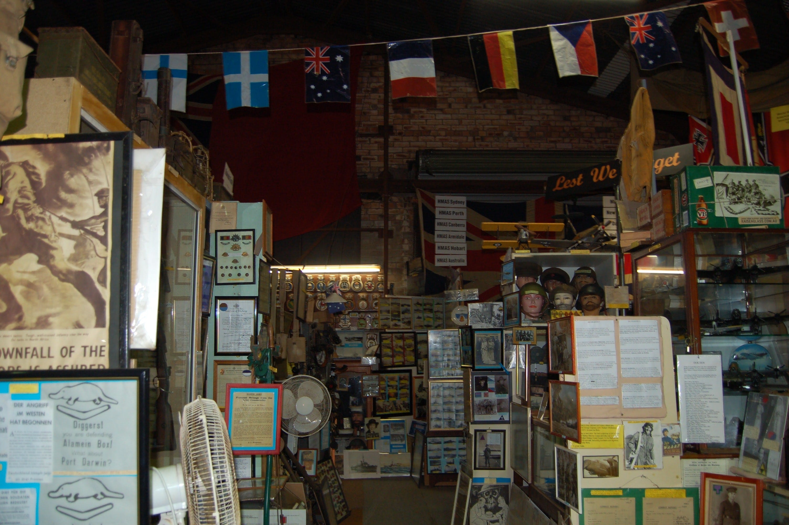 Military and Memorabilia Museum - Accommodation Kalgoorlie