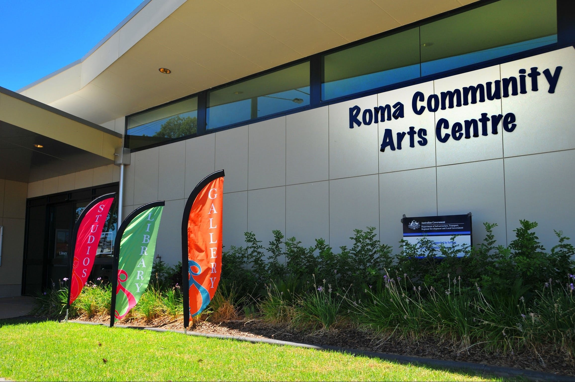 Roma on Bungil Art Gallery and the Walk of Art - Accommodation Kalgoorlie