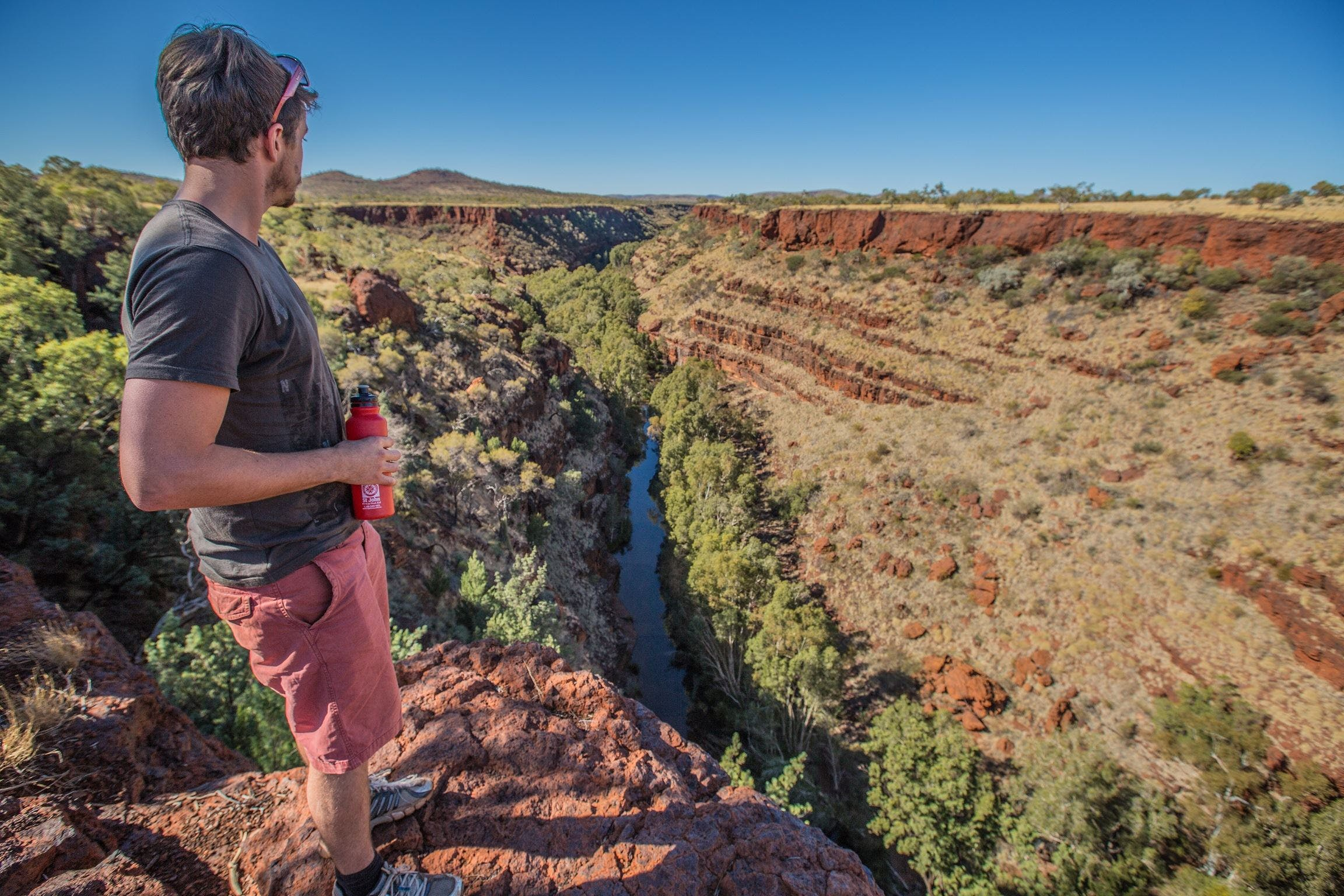 Gorge Rim Walk Dales Gorge - Accommodation Kalgoorlie