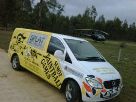 Splat Attack Paintball  Laser Tag Games - Accommodation Kalgoorlie