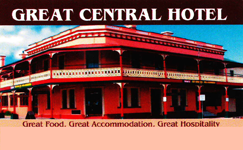 Great Central Hotel - Accommodation Kalgoorlie