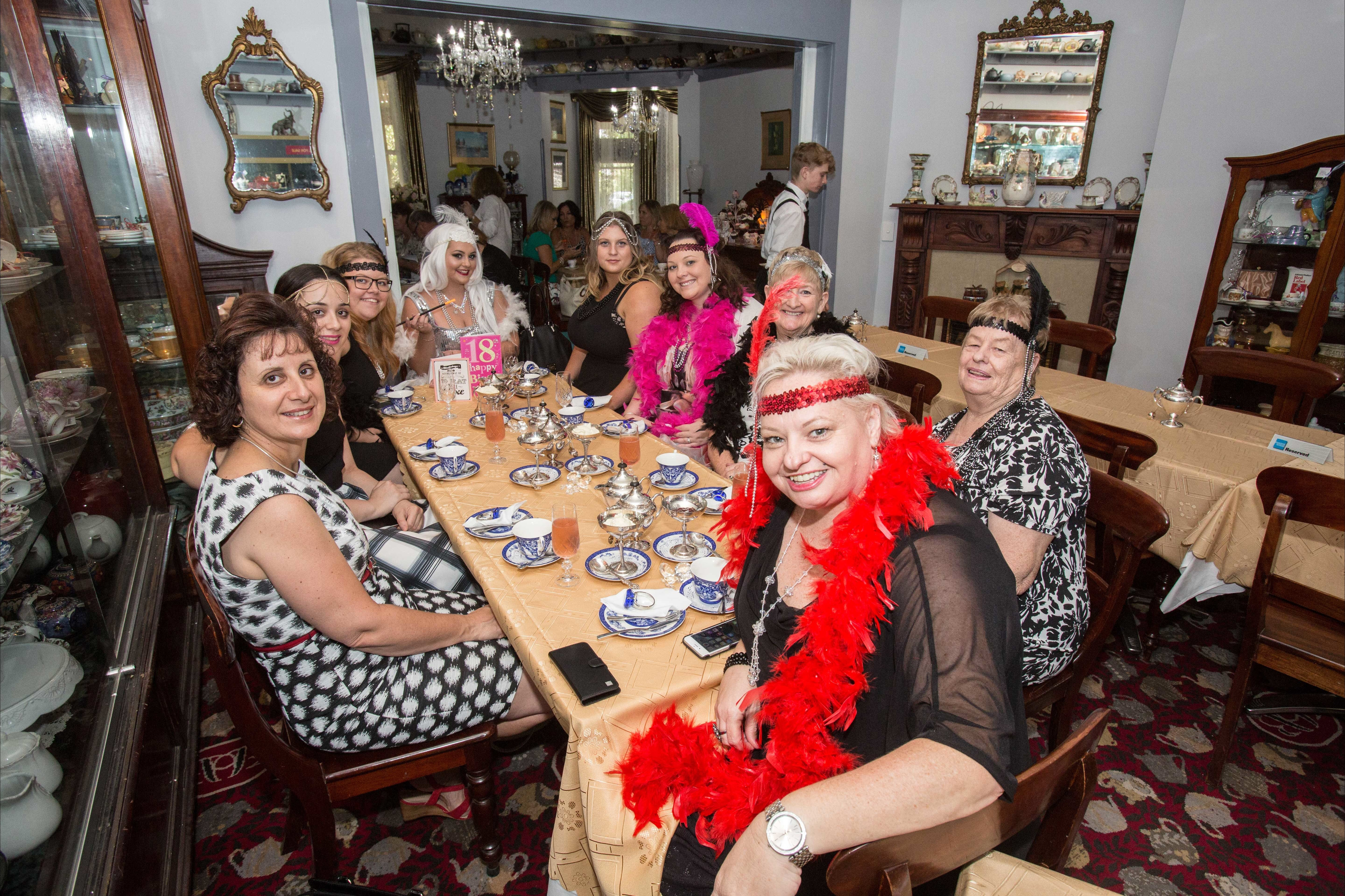 Bygone Beauty's Traditional High Tea Supreme for Good Food Month. - Accommodation Kalgoorlie