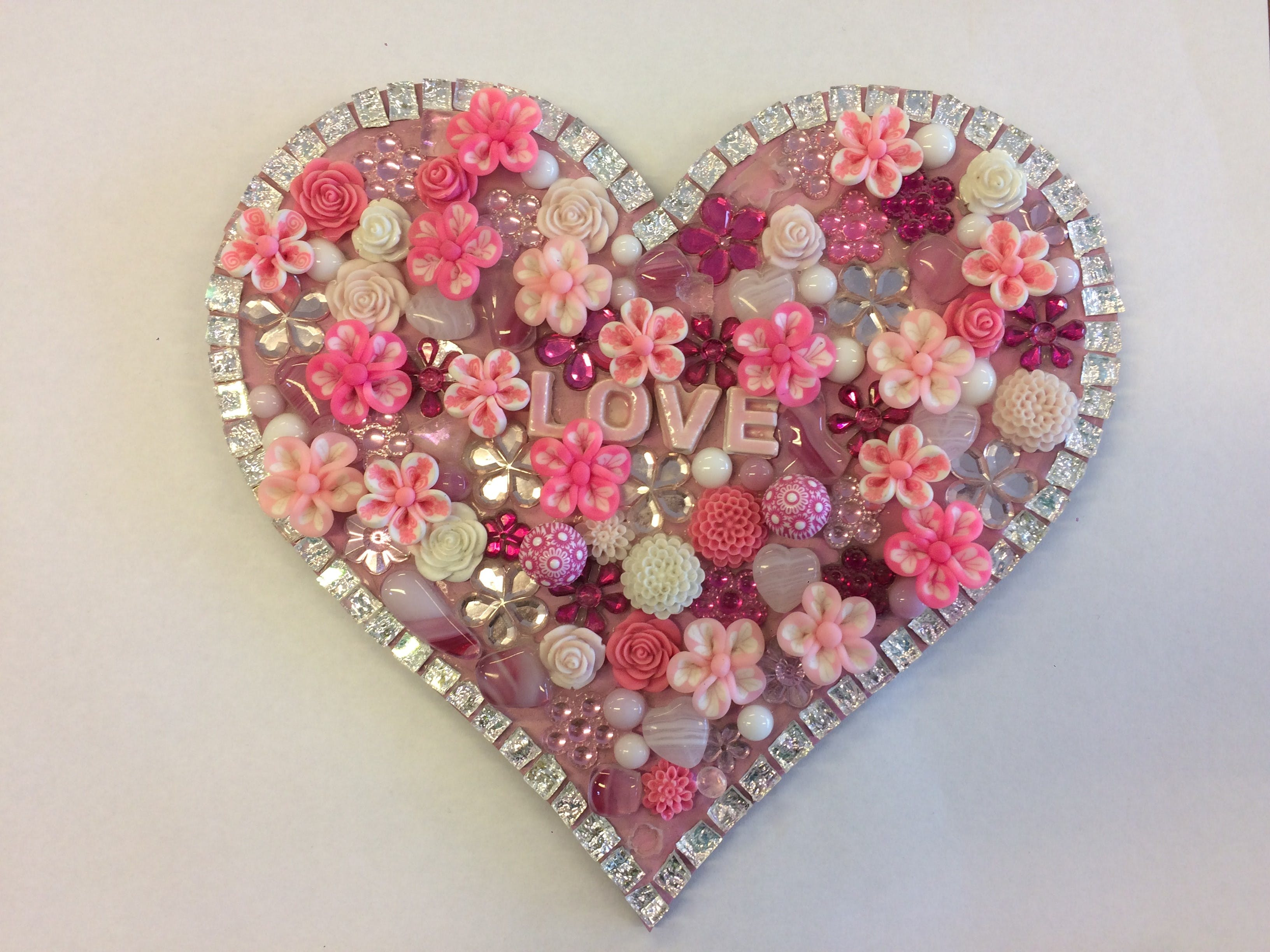 Flowers and Bling Mosaic Class for Kids - Accommodation Kalgoorlie