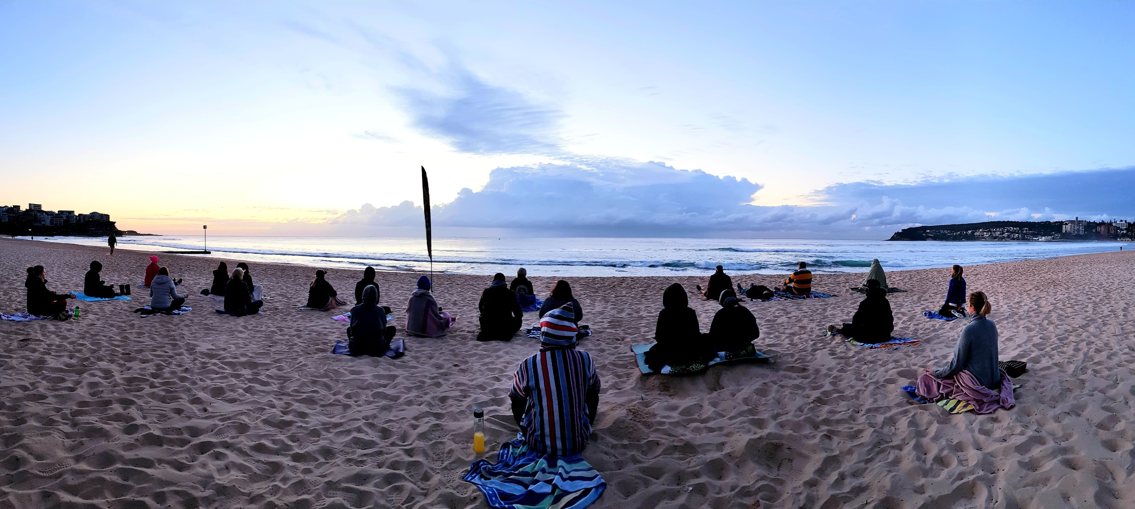 Making Meditation Mainstream Free Beach Meditation Sessions - Avalon Beach - Accommodation Kalgoorlie