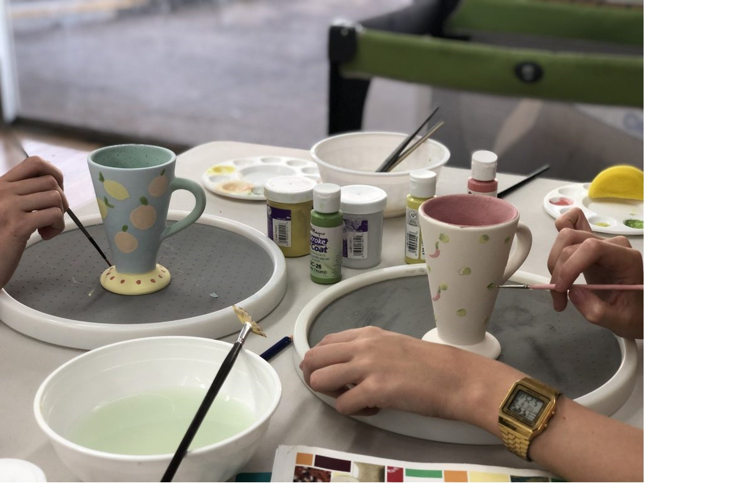 Ceramic Painting Class - Accommodation Kalgoorlie