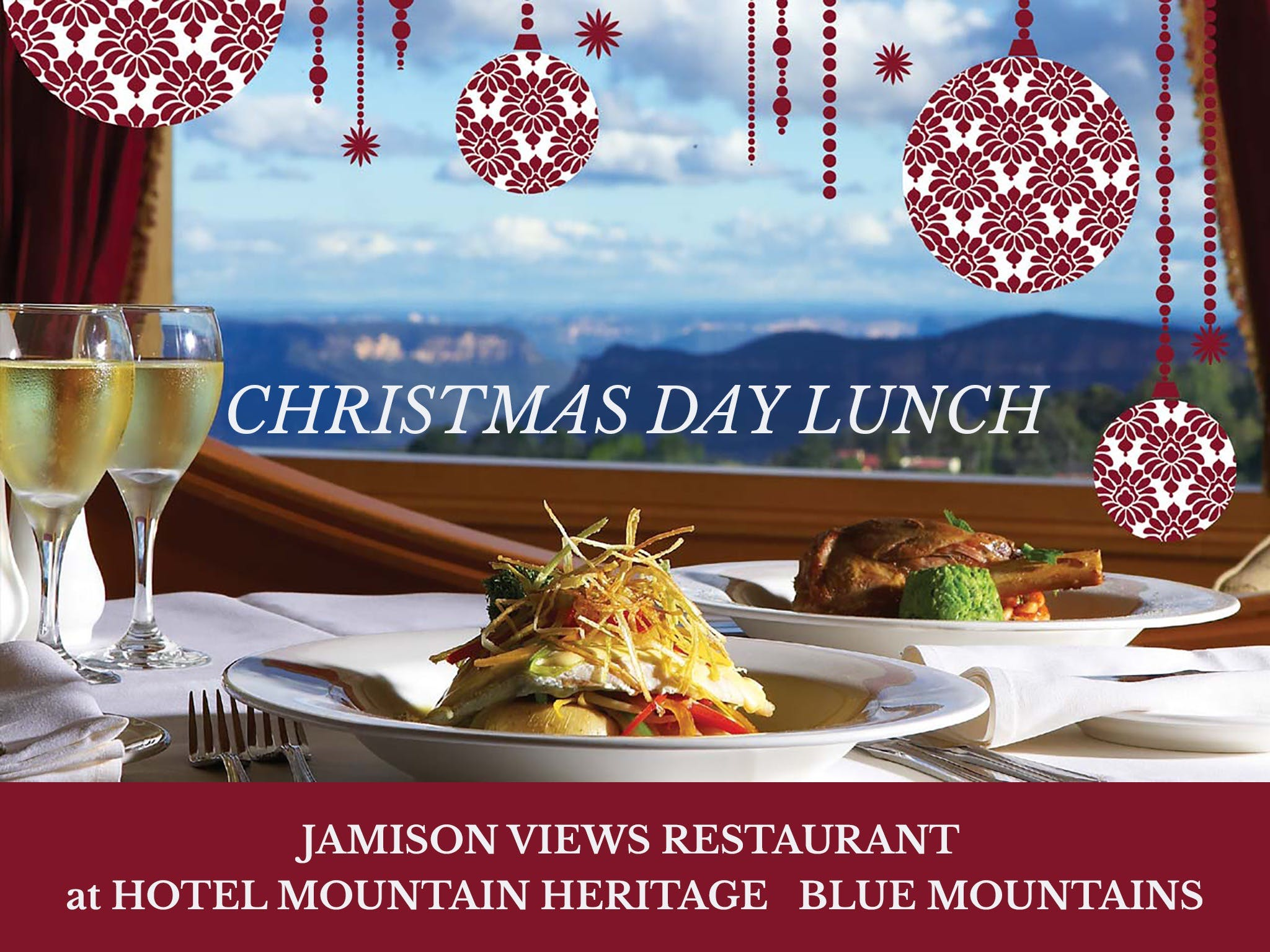 Christmas Day Lunch Hotel Mountain Heritage - Accommodation Kalgoorlie
