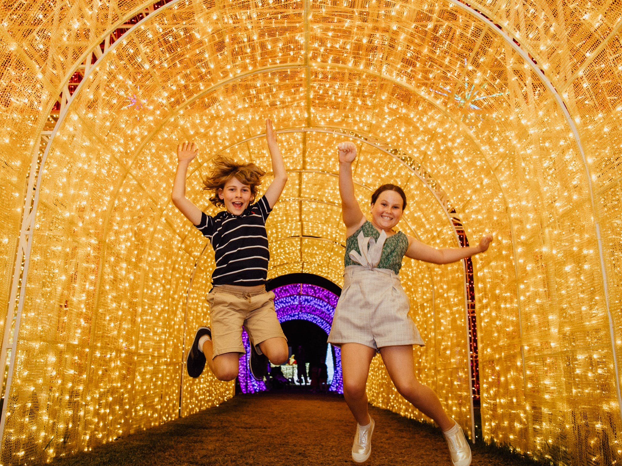 Christmas Lights Spectacular New Year's Eve at Hunter Valley Gardens - Accommodation Kalgoorlie
