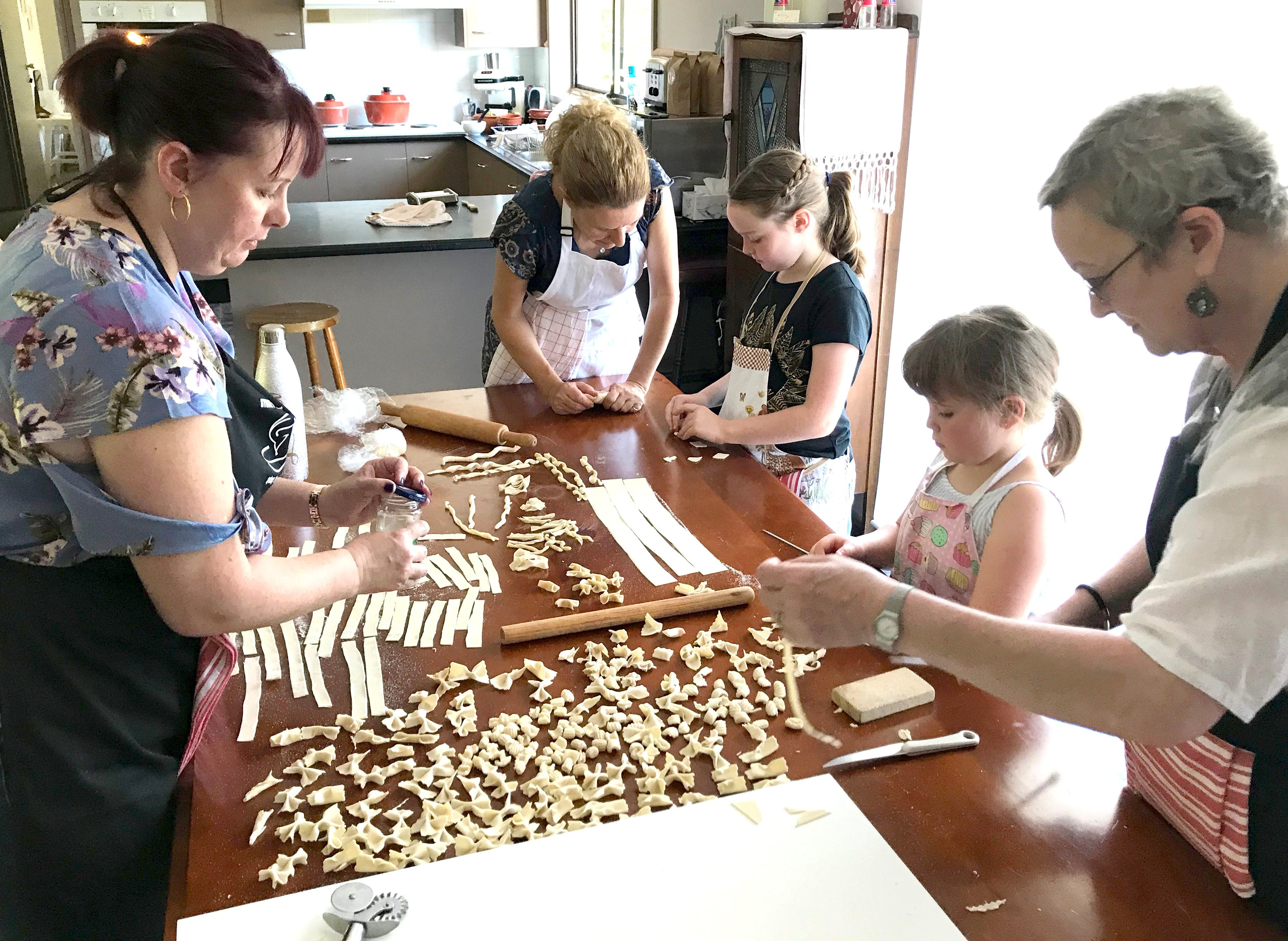Kids Pasta Making Class - hands on fun at your house - Accommodation Kalgoorlie