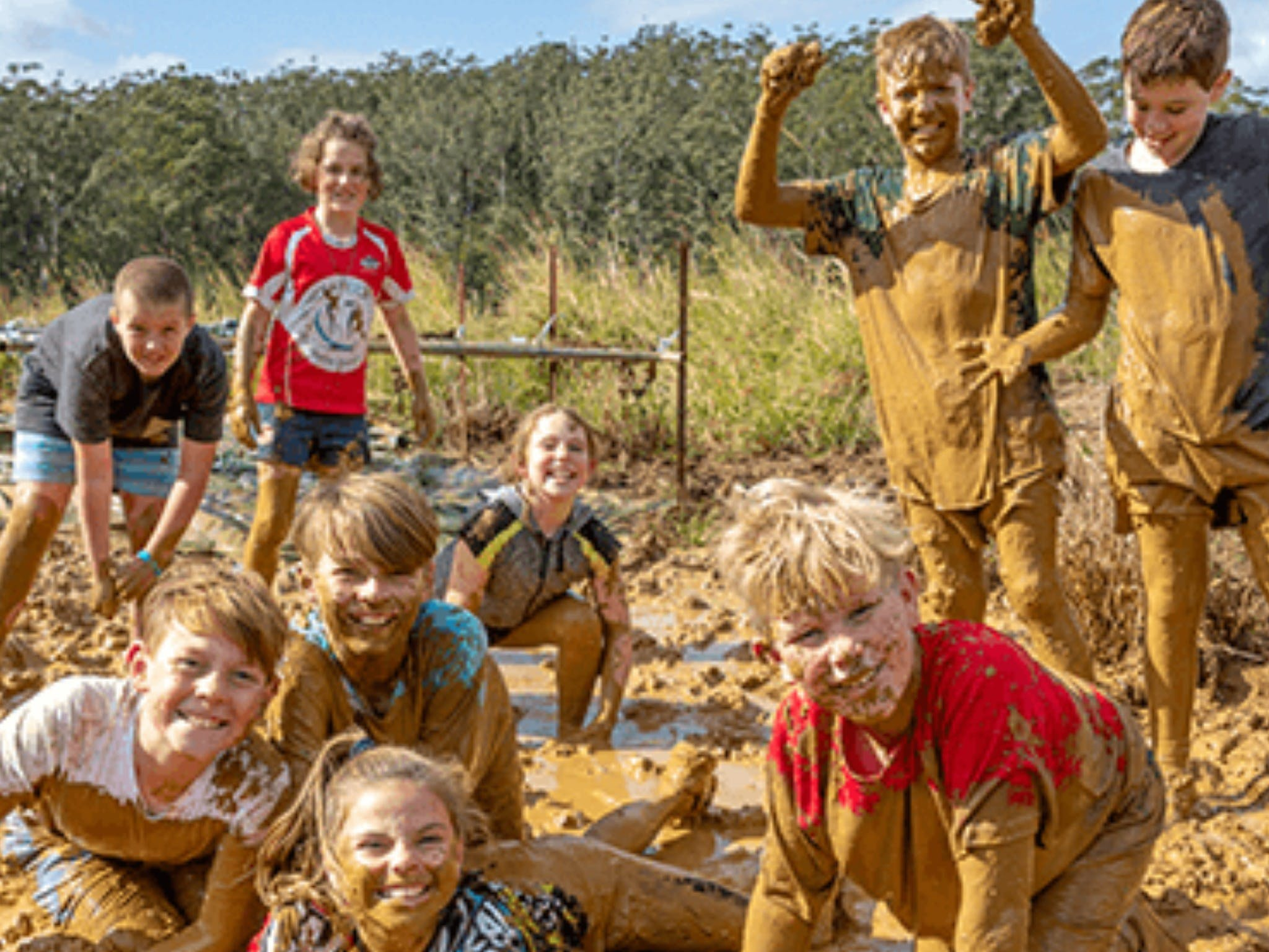 Mini Muddies Obstacle Challenge at Bunnamagoo Estate - Accommodation Kalgoorlie