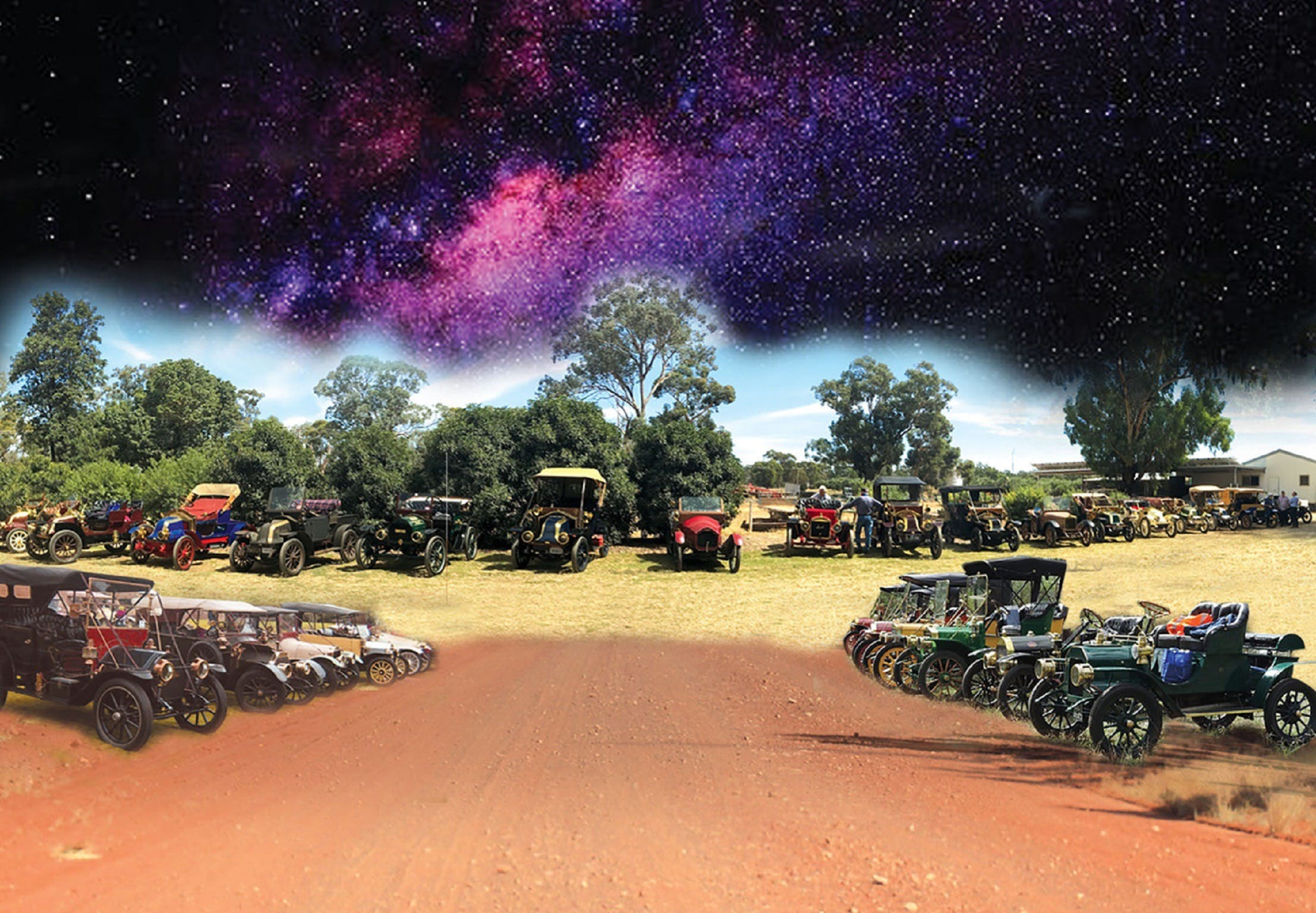 National Veteran 1 and 2 Cylinder Rally - Accommodation Kalgoorlie
