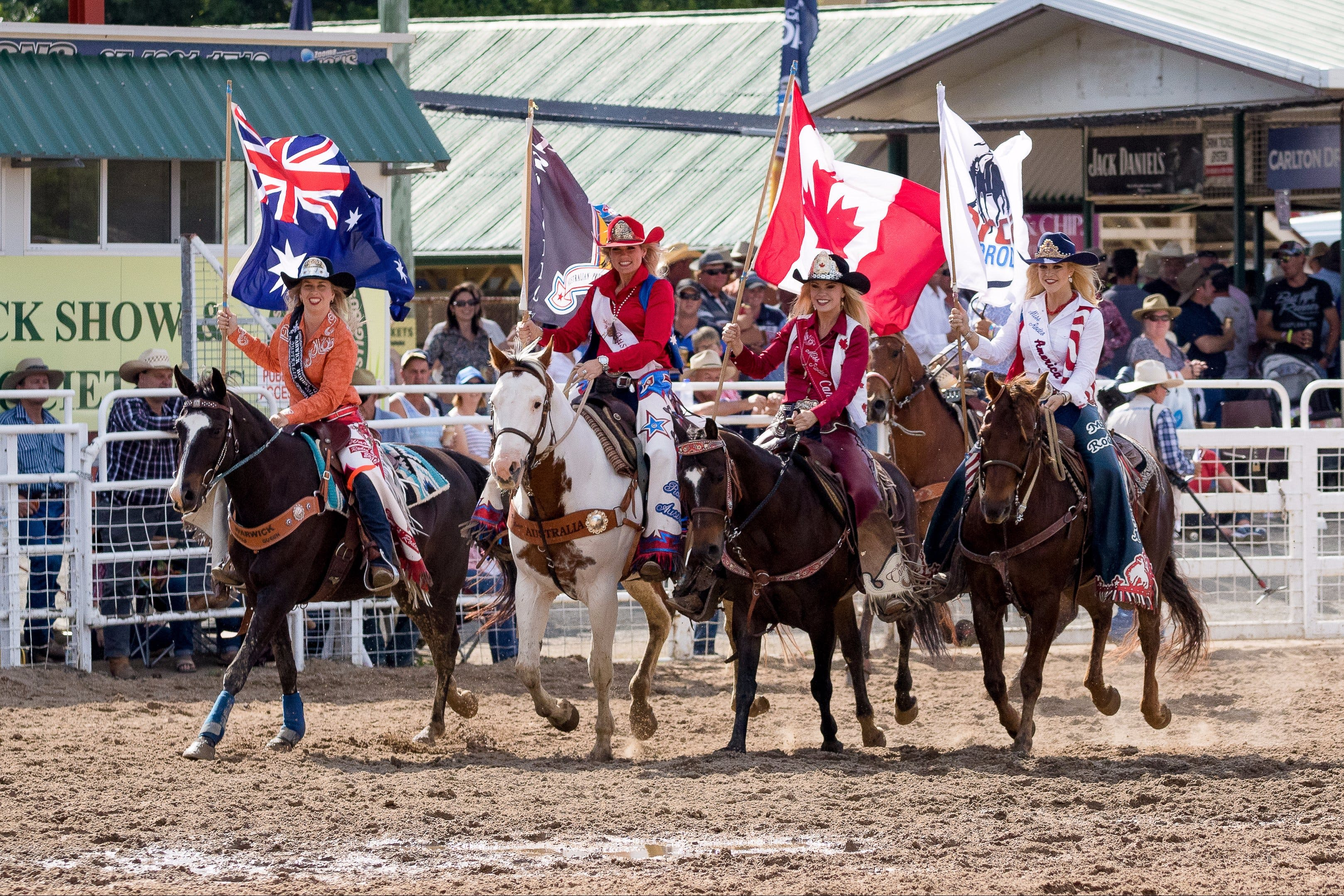 Warwick Rodeo National APRA National Finals and Warwick Gold Cup Campdraft - Accommodation Kalgoorlie