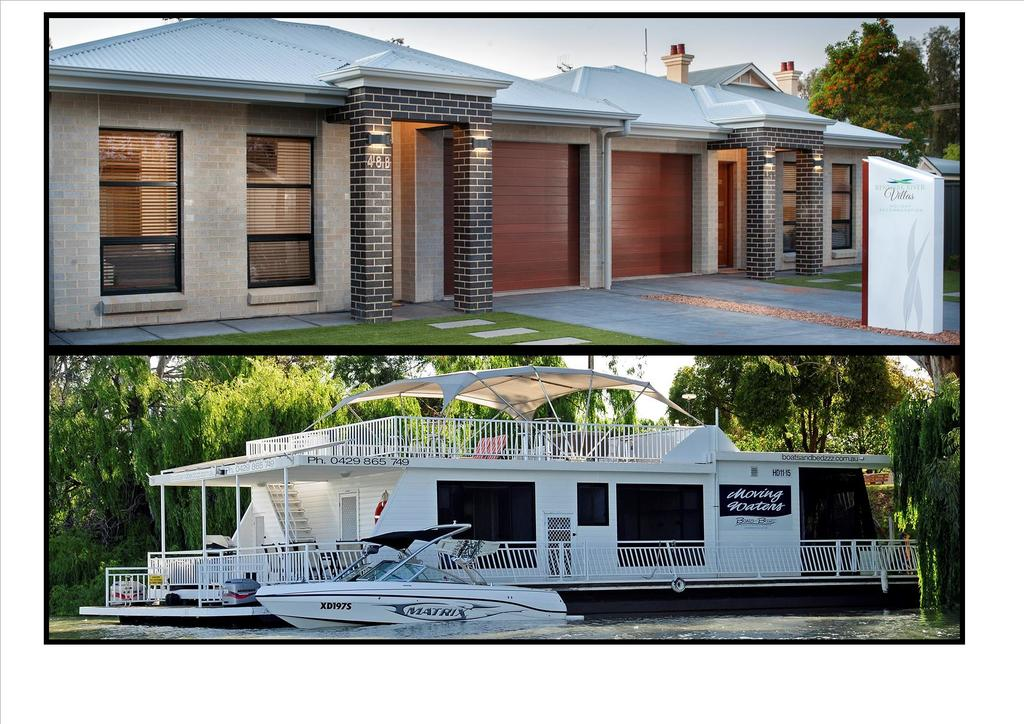 Renmark River Villas and Boats  Bedzzz - Accommodation Kalgoorlie
